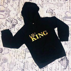 Children's 2T Lil' King Black Sweater